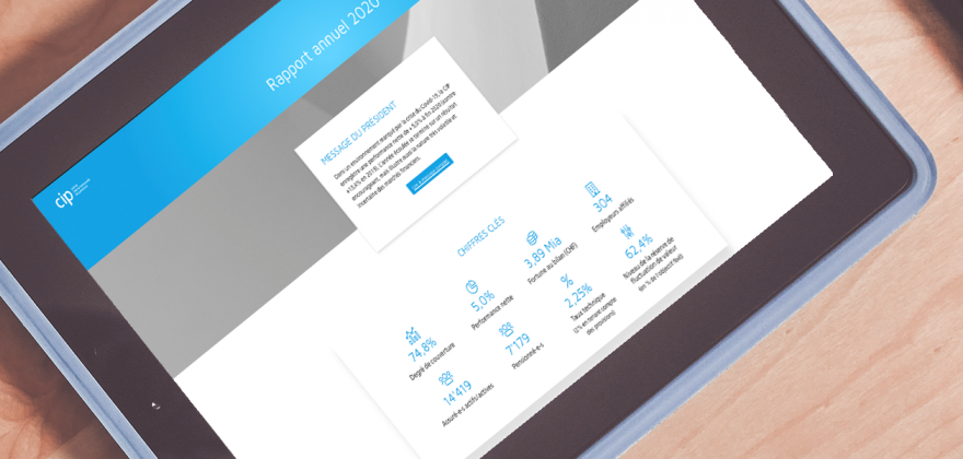 Le rapport annuel 2020 de la CIP est en ligne
